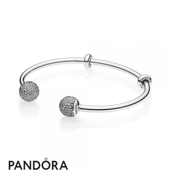 Quality Pandora Open Bangle Bracelets And Satisfying Service Are Provided