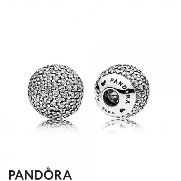 Pandora Bracelets Open Bangle Pave Open Bangle Caps Jewelry