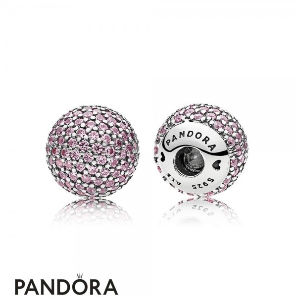 Pandora Bracelets Open Bangle Pave Open Bangle Caps Pink Cz Jewelry