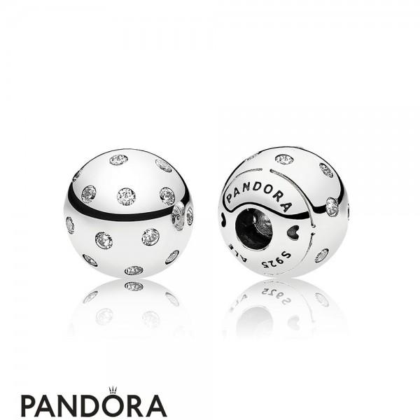 Pandora Bracelets Open Bangle Shimmering Open Bangle Caps Jewelry