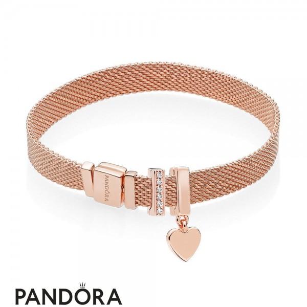 Pandora Rose Reflexions Floating Heart Gift Set Jewelry