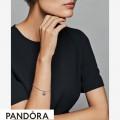Women's Pandora Blazing Red Beaded Heart Dangle Charm Jewelry