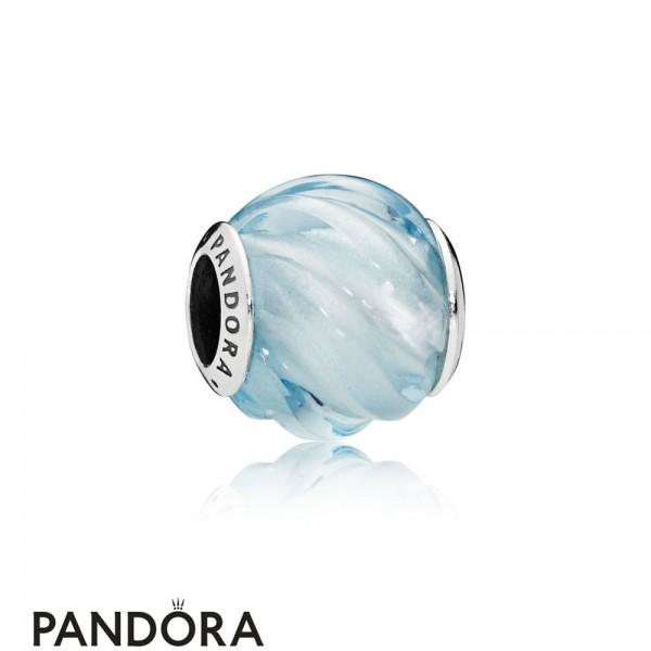 Women's Pandora Blue Ripples Charm Jewelry