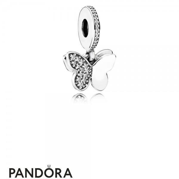 Women's Pandora Charm Envolee De Papillons Jewelry