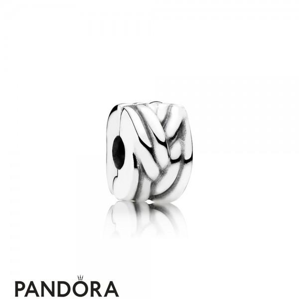 Pandora Clips Charms Braided Clip Jewelry