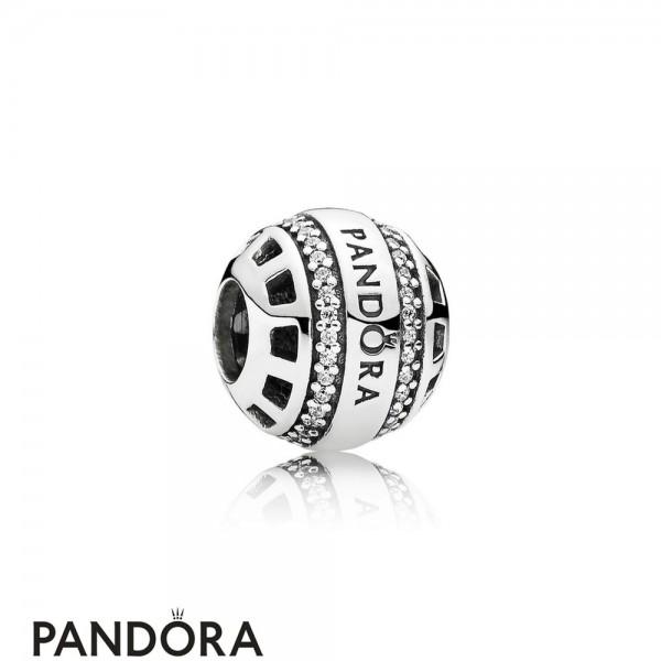 Pandora Contemporary Charms Forever Pandora Charm Clear Cz Jewelry