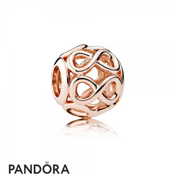 Pandora Contemporary Charms Infinite Shine Charm Pandora Rose Jewelry