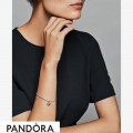 Women's Pandora Dark Red Beaded Heart Dangle Charm Jewelry