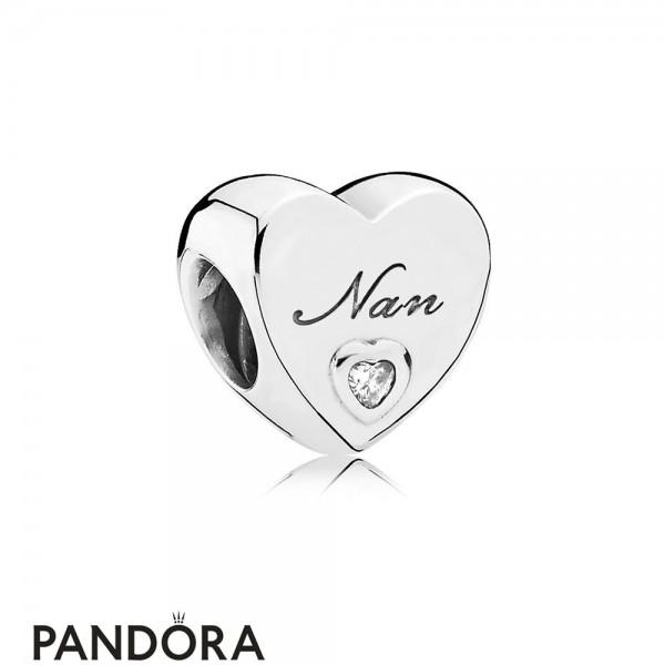 Women's Pandora Nan's Love Heart Charm Jewelry Jewelry