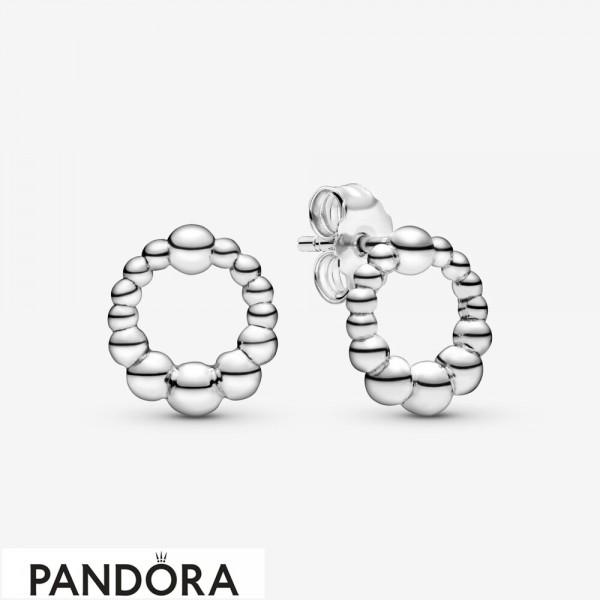 Women's Pandora Pearl Stud Earrings Jewelry