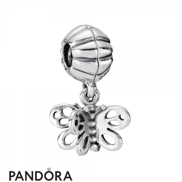 Pandora Pendant Charms Best Friends Forever Butterfly Two Part Charm Jewelry