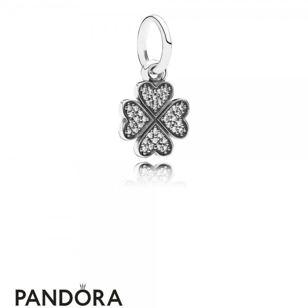 Pandora Pendant Charms Symbol Of Lucky In Love Pendant Charm Clear Cz Jewelry