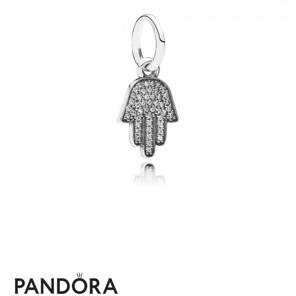 Pandora Pendant Charms Symbol Of Protection Pendant Charm Clear Cz Jewelry