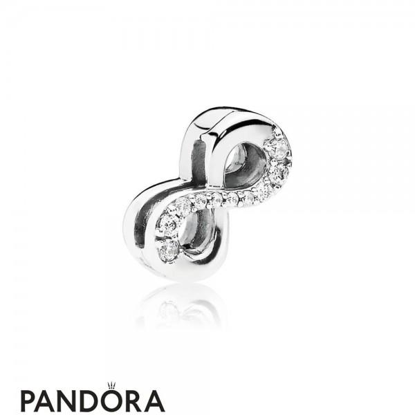 Pandora Reflexions Sparkling Infinity Clip Charm Jewelry