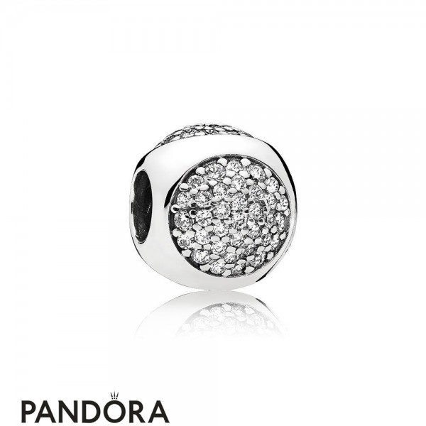 Pandora Sparkling Paves Charms Dazzling Droplet Charm Clear Cz Jewelry
