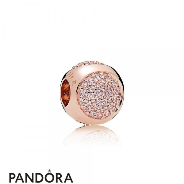 Pandora Sparkling Paves Charms Dazzling Droplet Charm Pandora Rose Pink Cz Jewelry