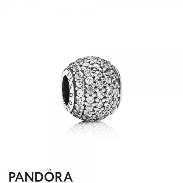 Pandora Sparkling Paves Charms Pave Lights Charm Clear Cz Jewelry