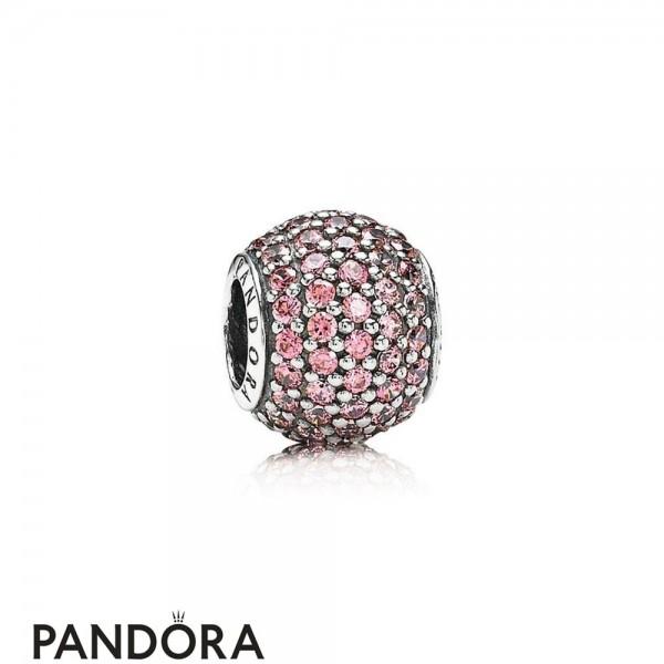 Pandora Sparkling Paves Charms Pave Lights Charm Fancy Pink Cz Jewelry