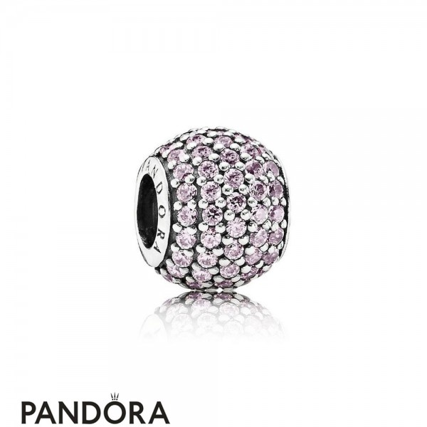 Pandora Sparkling Paves Charms Pave Lights Charm Pink Cz Jewelry