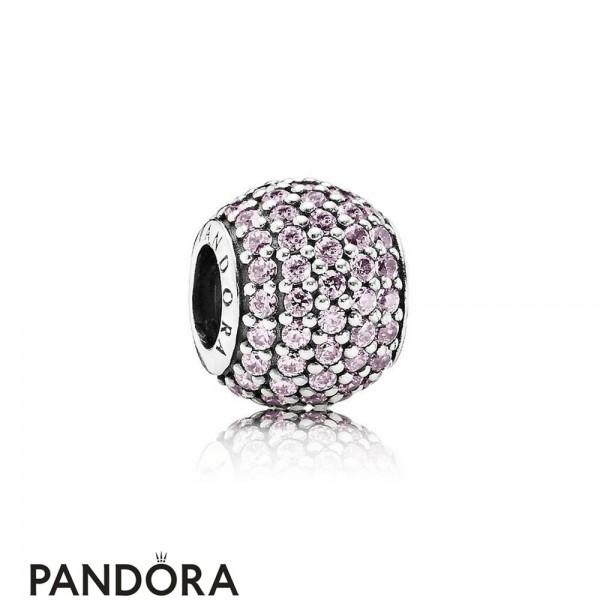 Pandora Sparkling Paves Charms Pave Lights Charm Pink Cz Jewelry