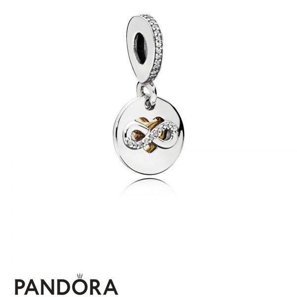 Pandora Symbols Of Love Charms Heart Of Infinity Pendant Charm Clear Cz Jewelry