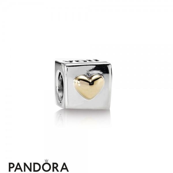 Pandora Symbols Of Love Charms I Love You Engraved Heart Box Charm Jewelry