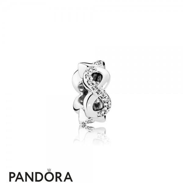 Pandora Symbols Of Love Charms Infinite Love Clear Cz Jewelry