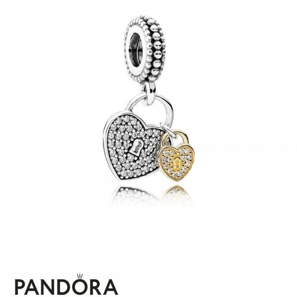 Pandora Symbols Of Love Charms Love Locks Pendant Charm Clear Cz Jewelry