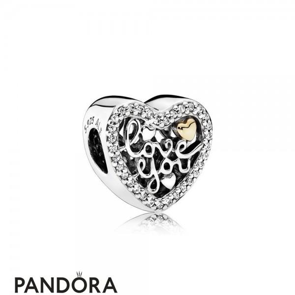 Pandora Symbols Of Love Charms Love Script Charm Clear Cz Jewelry