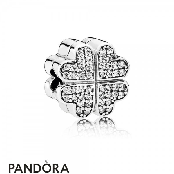 Pandora Symbols Of Love Charms Petals Of Love Clear Cz Jewelry