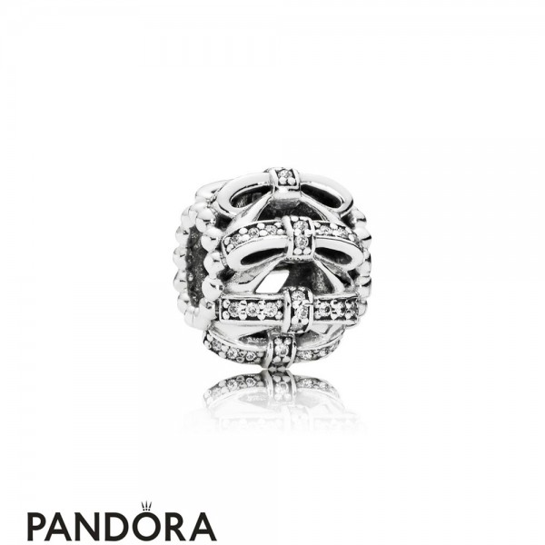 Pandora Symbols Of Love Charms Shimmering Sentiments Charm Clear Cz Jewelry