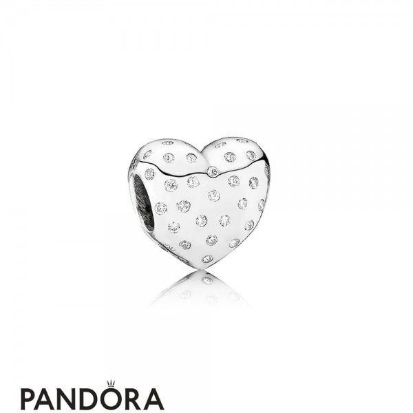 Pandora Symbols Of Love Charms Sparkle Of Love Clear Cz Jewelry