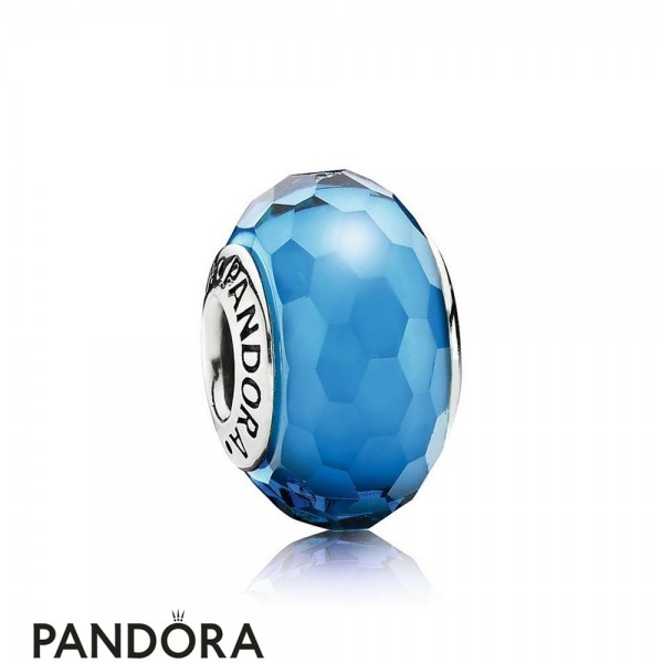 Pandora Touch Of Color Charms Fascinating Aqua Charm Murano Glass Jewelry