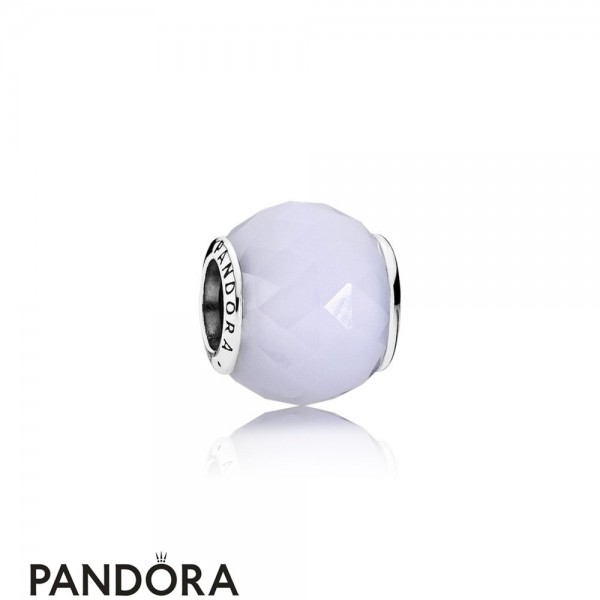 Pandora Touch Of Color Charms Geometric Facets Charm Opalescent White Crystal Jewelry