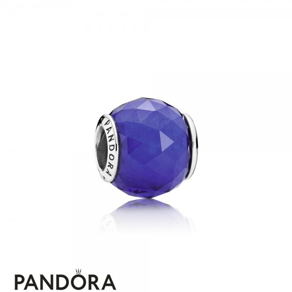 Pandora Touch Of Color Charms Geometric Facets Charm Royal Blue Crystal Jewelry