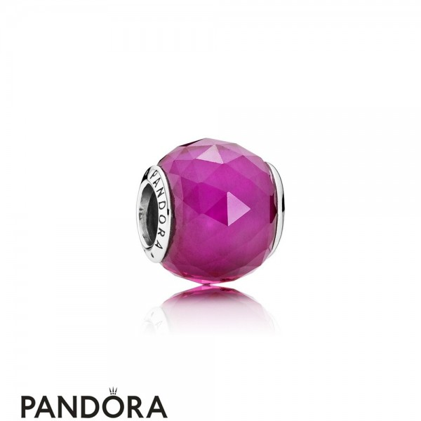 Pandora Touch Of Color Charms Geometric Facets Charm Synthetic Ruby Jewelry