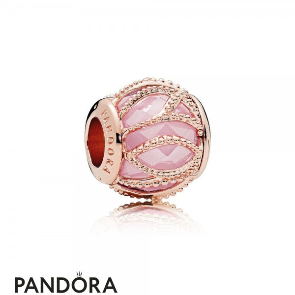 Pandora Touch Of Color Charms Intertwining Radiance Charm Pandora Rose Pink Cz Jewelry