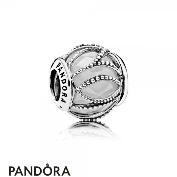 Pandora Touch Of Color Charms Intertwining Radiance Clear Cz Jewelry