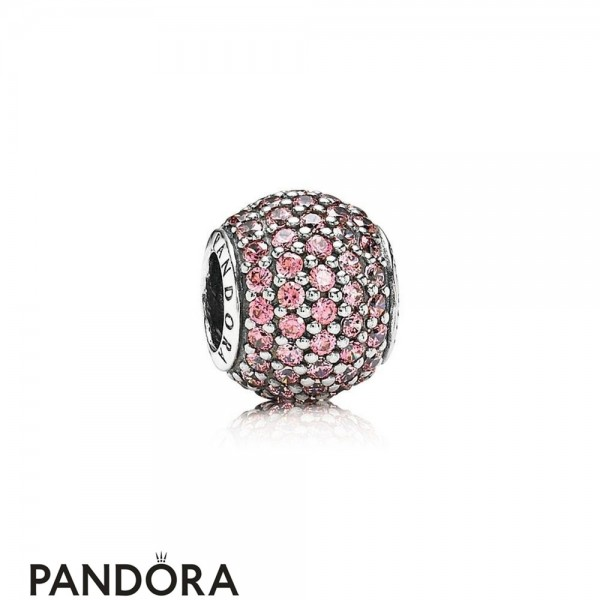Pandora Touch Of Color Charms Pave Lights Charm Fancy Pink Cz Jewelry