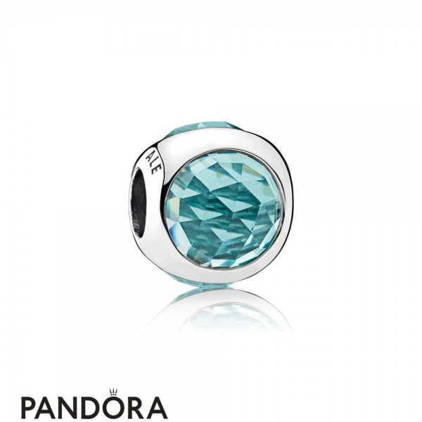 Pandora Touch Of Color Charms Radiant Droplet Charm Icy Green Crystals Jewelry