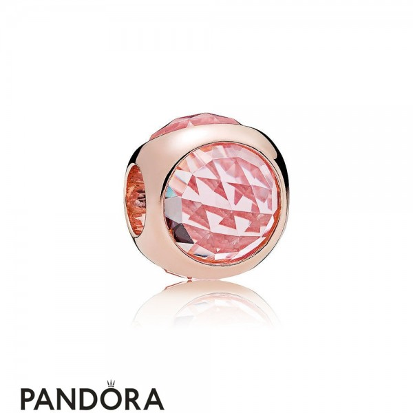 Pandora Touch Of Color Charms Radiant Droplet Charm Pandora Rose Pink Mist Crystals Jewelry
