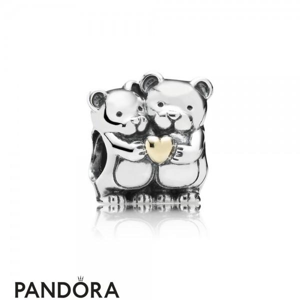 Pandora Valentine's Day Charms Bear Hug Charm Jewelry