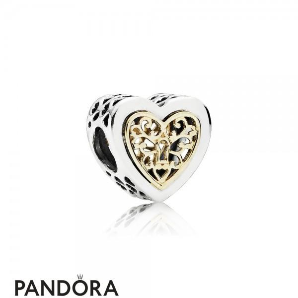 Pandora Valentine's Day Charms Locked Hearts Charm Jewelry