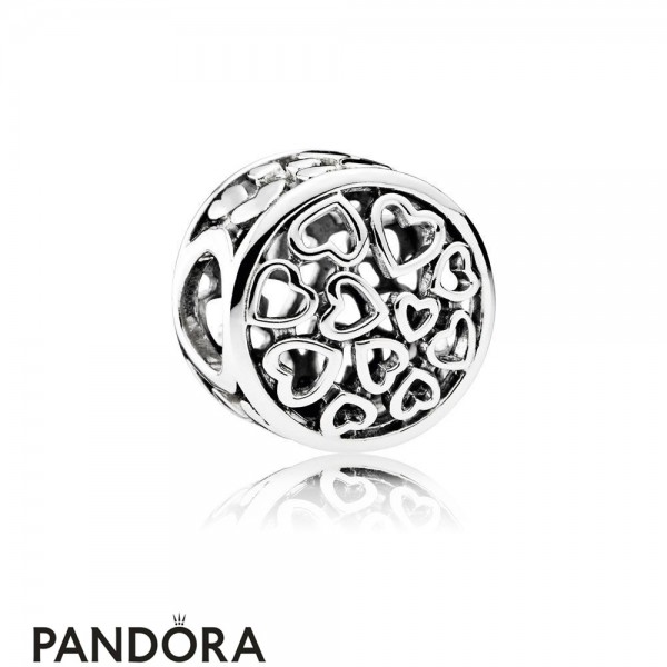 Pandora Valentine's Day Charms Loving Sentiments Jewelry