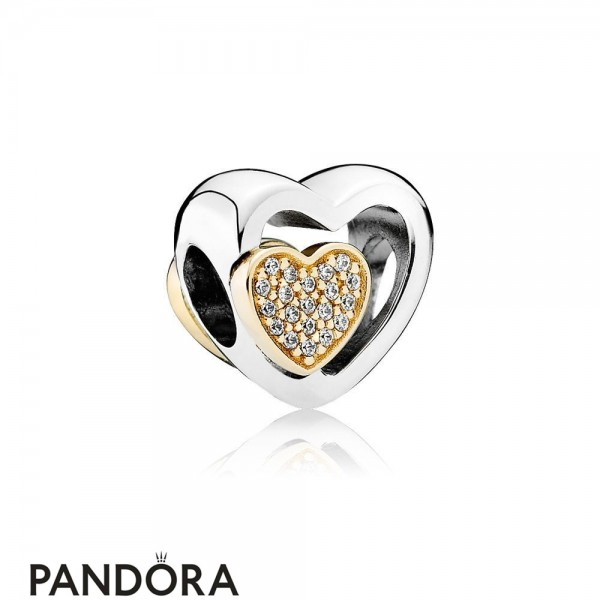 Pandora Wedding Anniversary Charms Joined Together Charm Clear Cz Jewelry