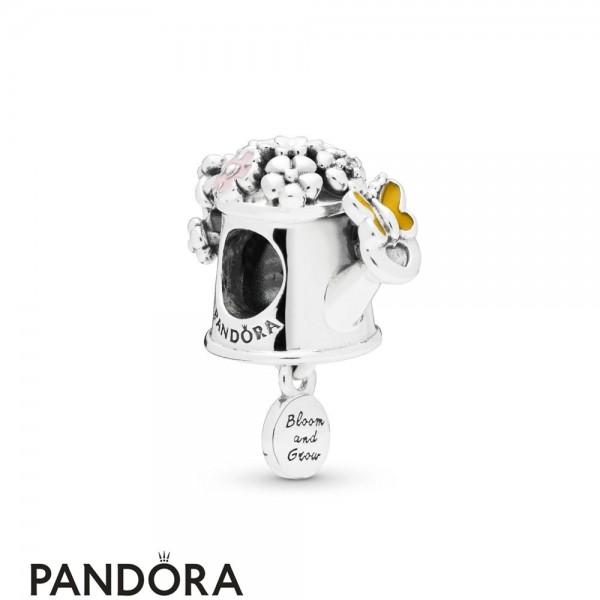 Women's Pandora Blooming Watering Can Charm Jewelry