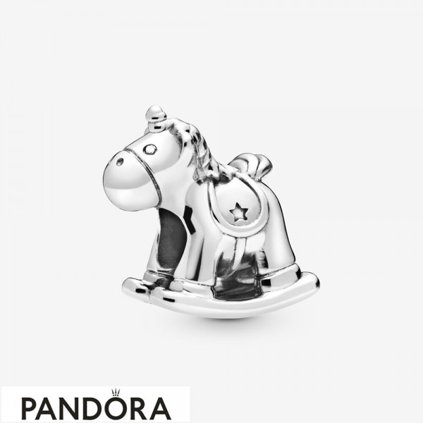 Women's Pandora Bruno The Unicorn Rocking Horse Charm Jewelry