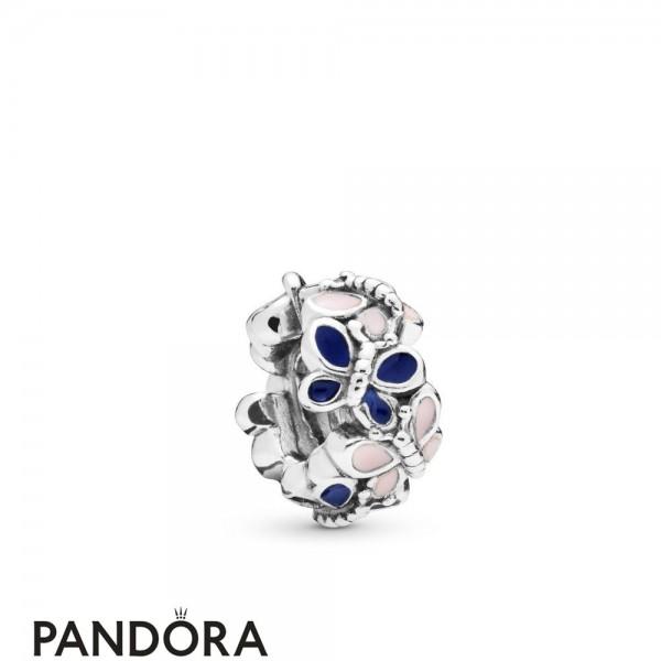Women's Pandora Butterfly Arrangement Spacer Charm Jewelry