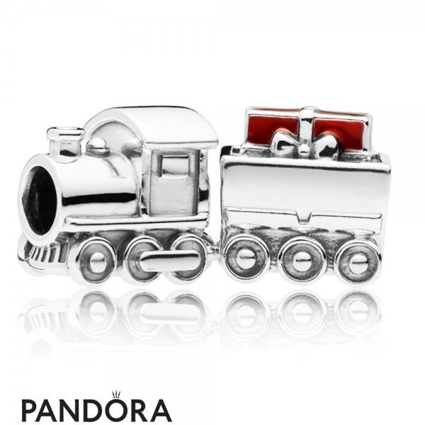 Women's Pandora Christmas Train Charm Jewelry