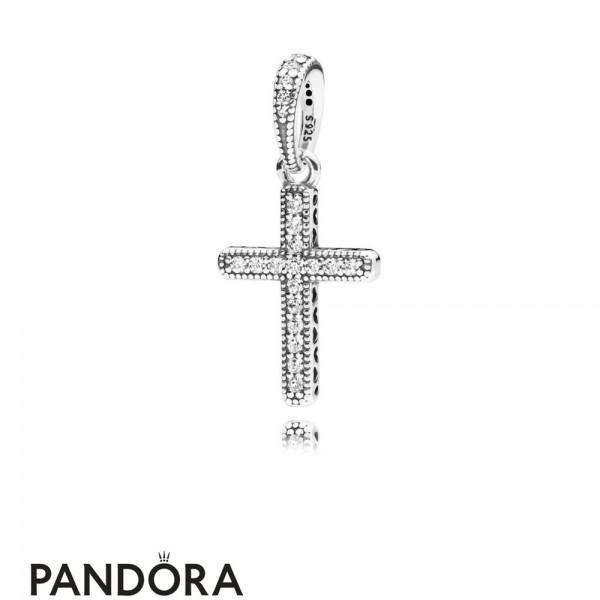 Women's Pandora Classic Cross Pendant Jewelry